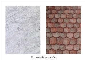 Texturas imitación